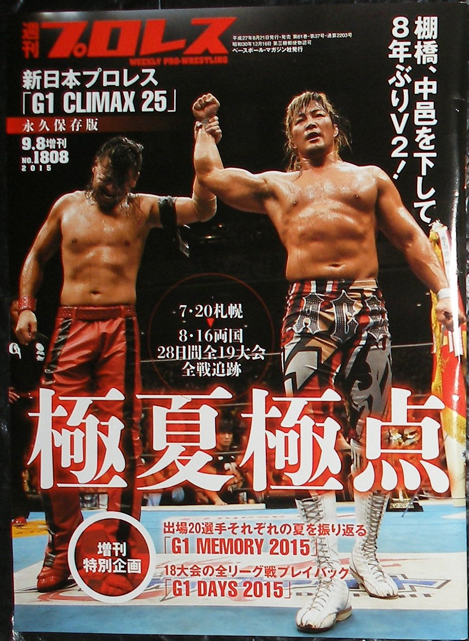 Weekly Pro Wrestling No. 1808