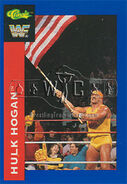 1991 WWF Classic Superstars Cards Hulk Hogan 111