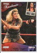 2009 TNA Knockouts (Tristar) ODB & Rhino 80
