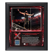 Braun Strowman Extreme Rules 2018 15 x 17 Framed Plaque w Ring Canvas
