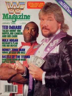 WWF Magazine - January 1988
