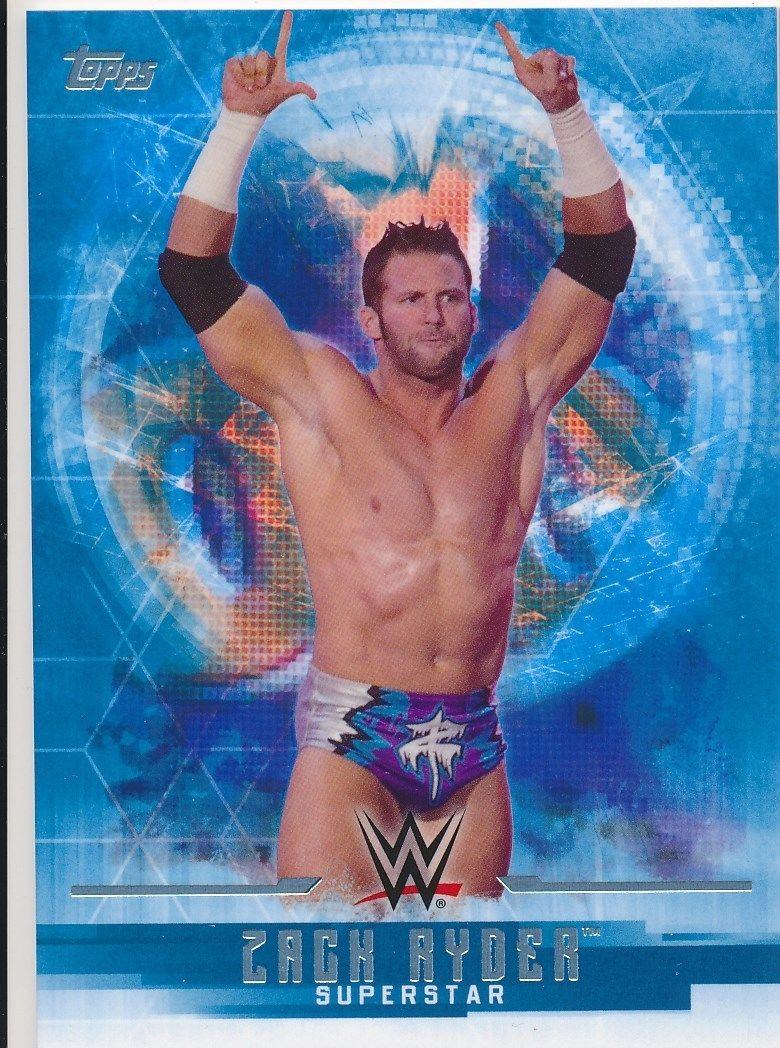 2017 WWE Undisputed Wrestling Cards (Topps) Zack Ryder (No.40)
