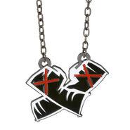 CM Punk Crimson X Pendant