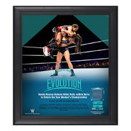 Evolution 2018 Ronda Rousey 15 x 17 Framed Plaque w Ring Canvas