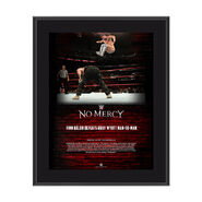 Finn Bálor No Mercy 2017 10 x 13 Commemorative Photo Plaque
