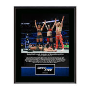Riott Squad SmackDown Debut 10 x 13 Commemorative Photo Plaque