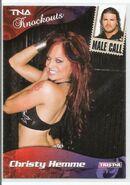 2009 TNA Knockouts (Tristar) Christy Hemme & Robert Roode 75
