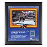 The Usos SummerSlam 2021 15x17 Commemorative Plaque