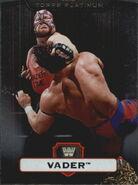 2010 WWE Platinum Trading Cards Vader 89
