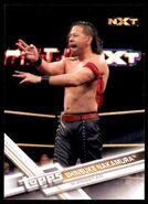 2017 WWE Wrestling Cards (Topps) Shinsuke Nakamura 86