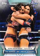 2019 WWE Women's Division (Topps) The IIconics 85