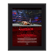 The Hardy Boyz Payback 2017 10 x 13 Commemorative Photo Plaque