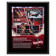 WrestleMania 36 Alexa Bliss & Nikki Cross 10 x 13 Limited Edition Plaque