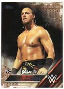 2016 WWE (Topps) Then, Now, Forever Big Cass 105