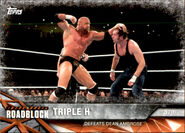 2017 WWE Road to WrestleMania Trading Cards (Topps) Triple H 41