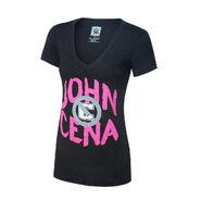 John Cena U Can't C Me Tri-Blend Women's V-Neck T-Shirt