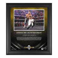 Kushida NXT Takeover 31 15 x 17 Commemorative Plaque