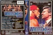 WWF Wrestlemania XIX- Cover