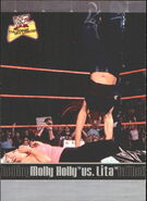 2001 WWF The Ultimate Diva Collection (Fleer) Molly Holly vs. Lita 84