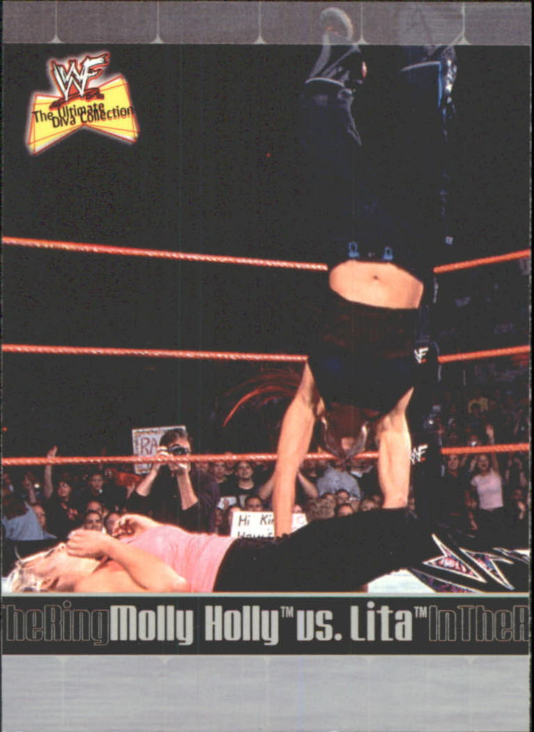 2001 WWF The Ultimate Diva Collection (Fleer) Molly Holly vs. Lita (No.84)