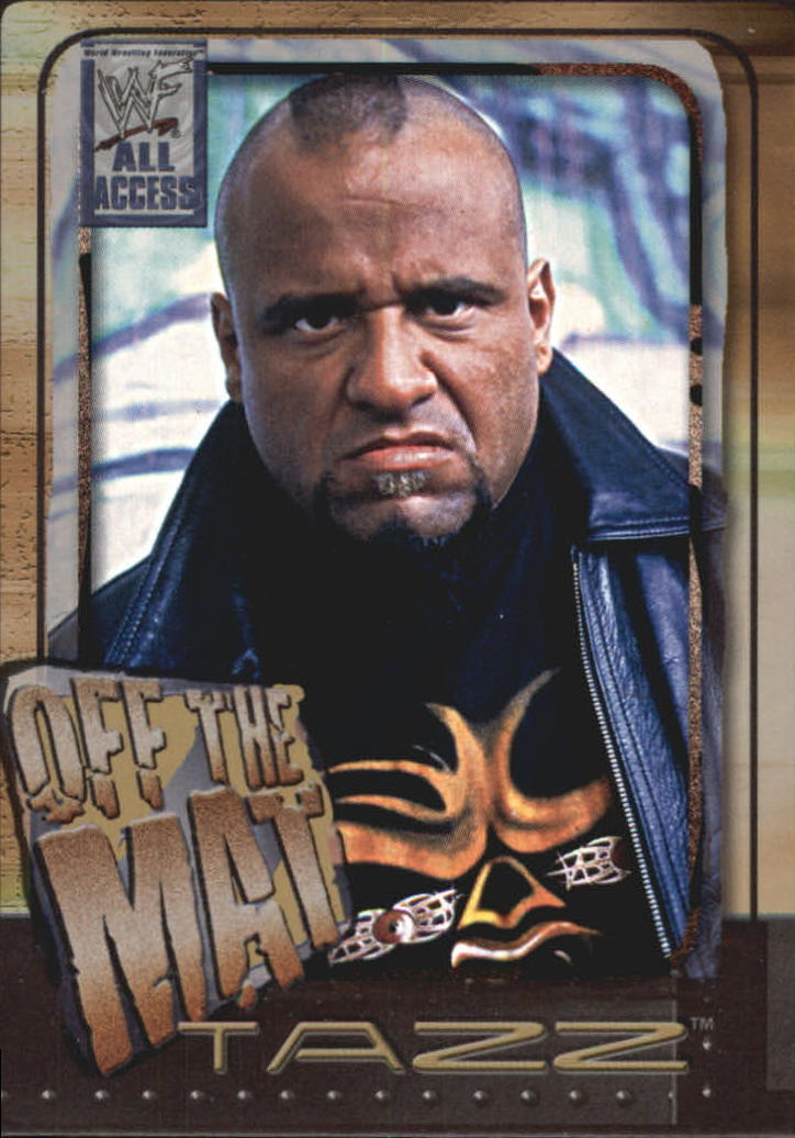 2002 WWF All Access (Fleer) Tazz (No.72)