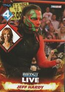 2013 TNA Impact Wrestling Live Trading Cards (Tristar) Jeff Hardy 35