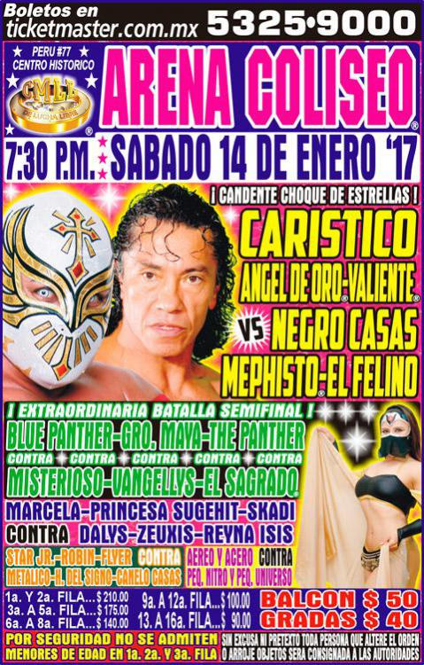 CMLL Sabados De Coliseo (January 14, 2017)