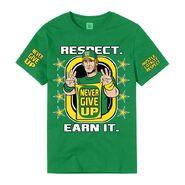 John Cena Earn The Day Authentic T-Shirt