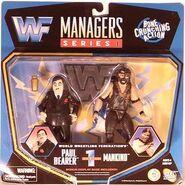 Paul Bearer & Mankind (WWF Managers 1)
