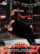 2018 WWE Road to WrestleMania Trading Cards (Topps) Roman Reigns 1