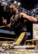 2018 WWE Wrestling Cards (Topps) Montez Ford 62