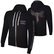 CM Punk Best Since Day One Lightweight Full Zip Hoodie Sweatshirt