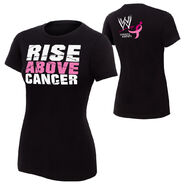 Paul Heyman Rise Above Cancer women T-Shirt