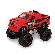 The Rock Ford F-150 Lightning Push-N-Go Raging Racer