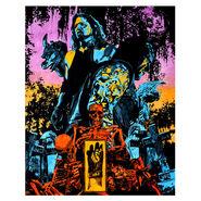 WrestleMania 36 Boneyard Match Rob Schamberger 11 x 14 Art Print