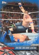 2017 WWE Road to WrestleMania Trading Cards (Topps) John Cena, Enzo Amore & Big Cass 99