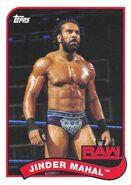 2018 WWE Heritage Wrestling Cards (Topps) Jinder Mahal 35