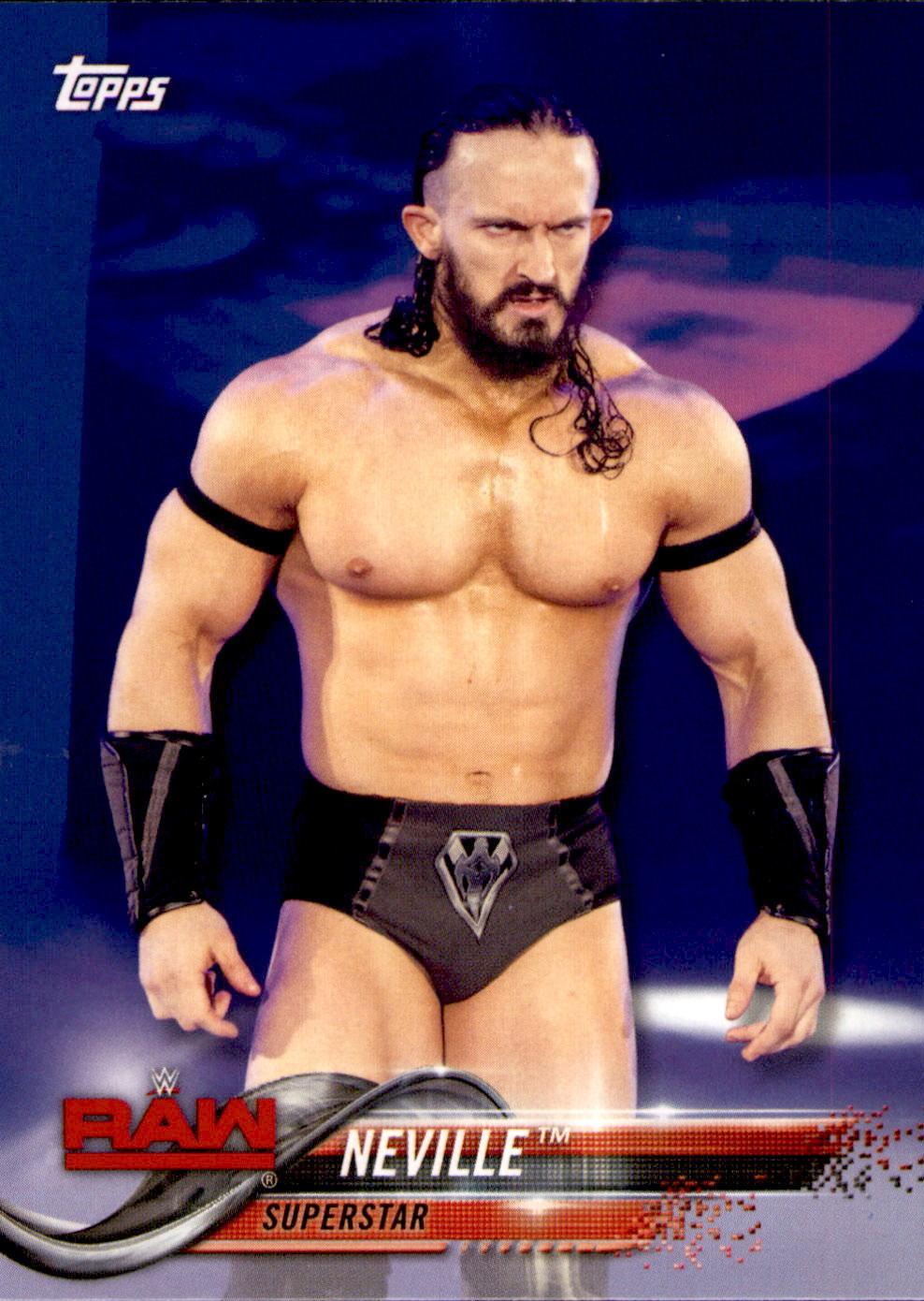 2018 WWE Wrestling Cards (Topps) Neville (No.67)