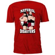 Natural Disasters Red T-Shirt