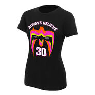 Ultimate Warrior 30 Years Women's Special Edition T-Shirt