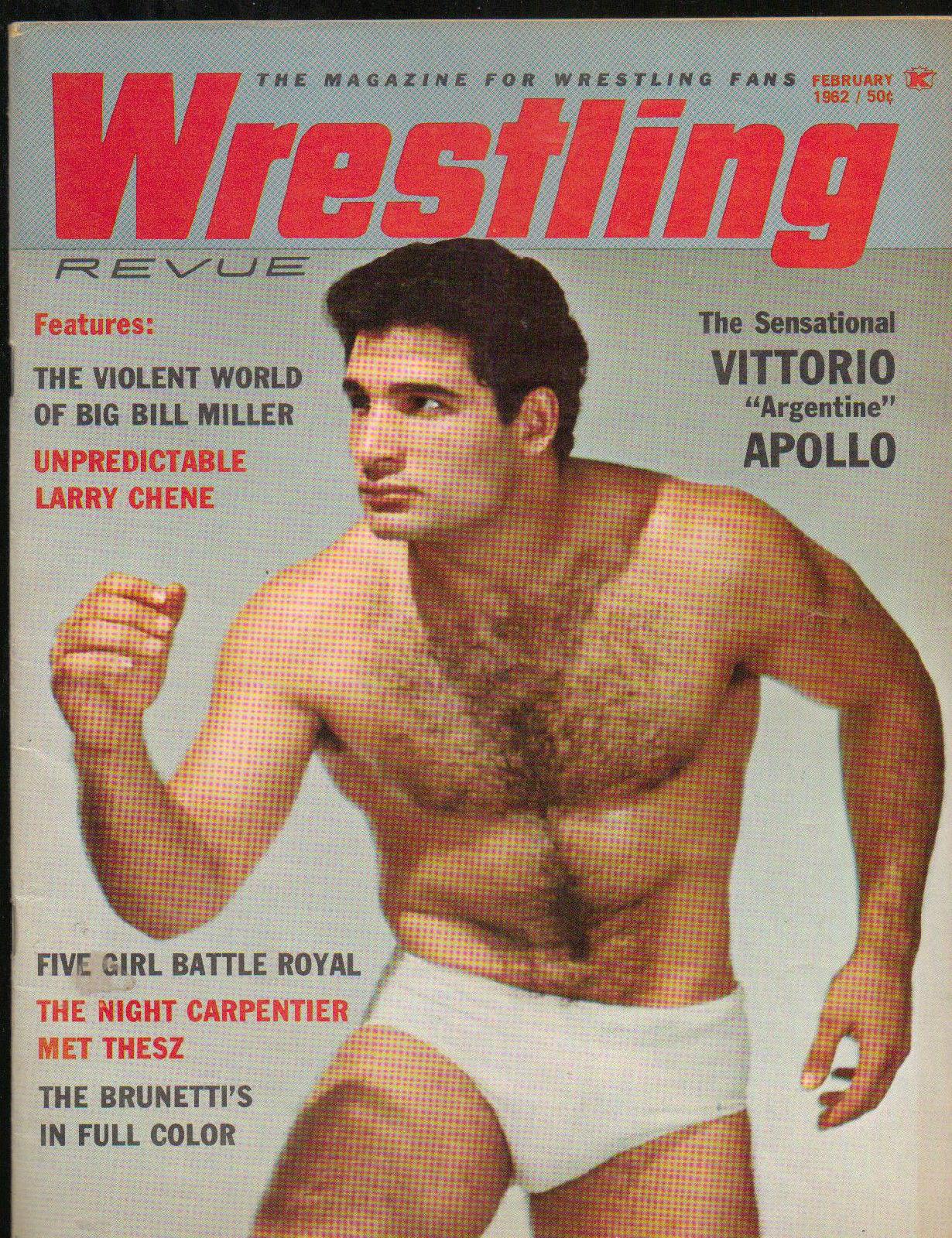 Wrestling Revue - February 1962