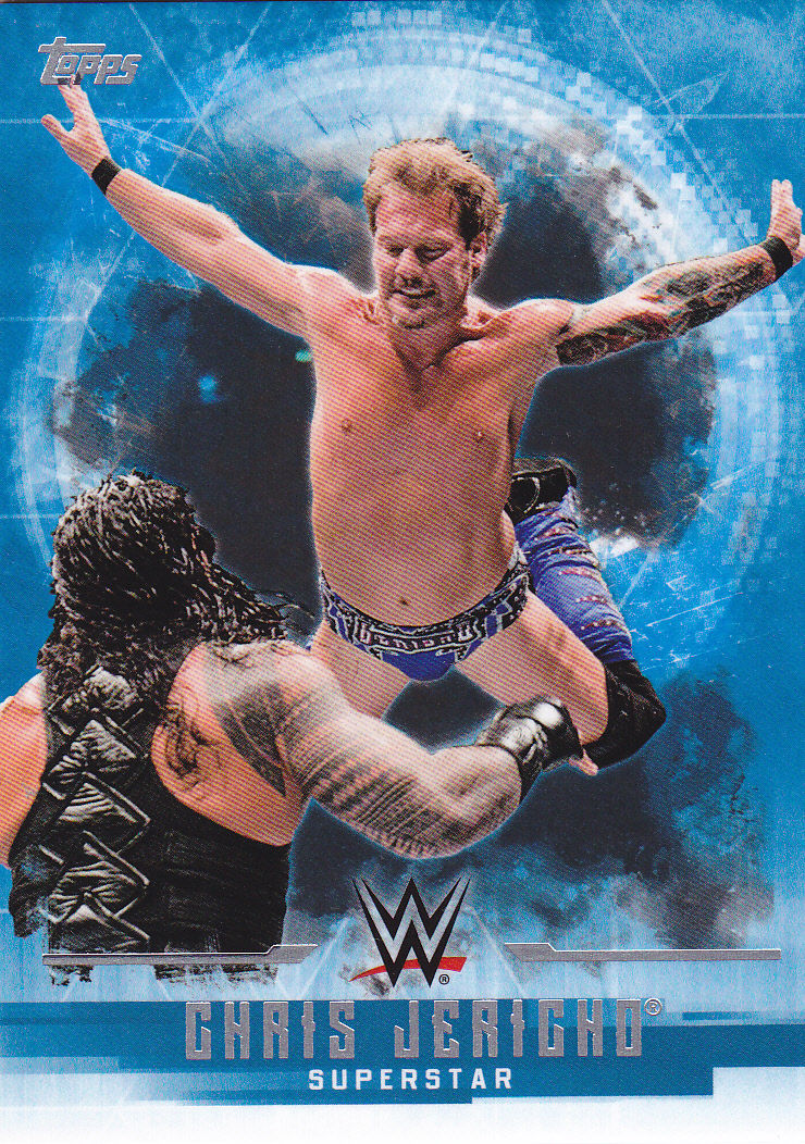 2017 WWE Undisputed Wrestling Cards (Topps) Chris Jericho (No.10)