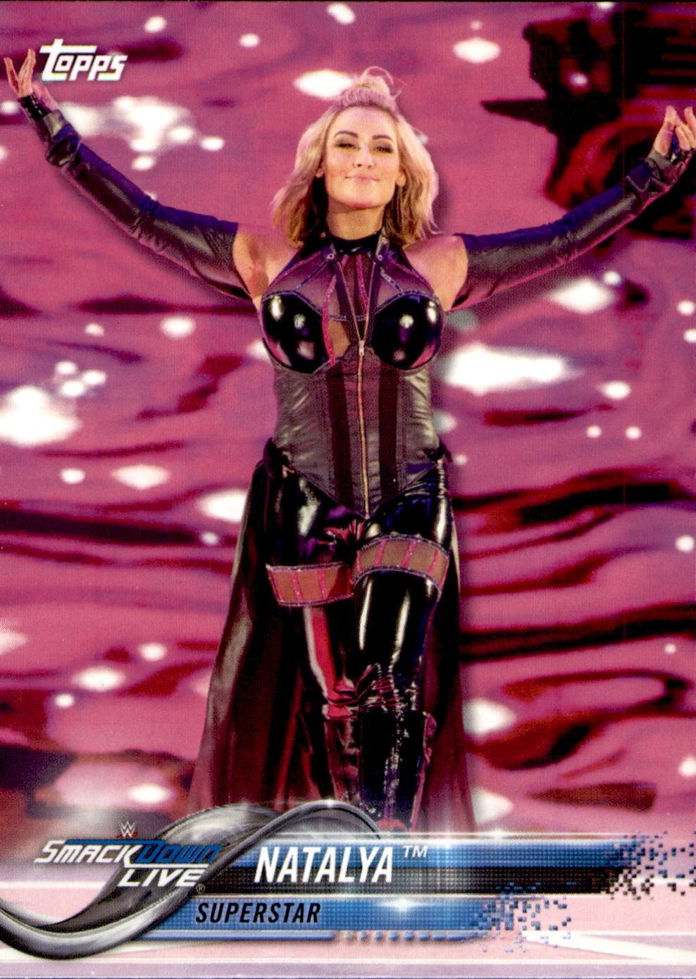 2018 WWE Wrestling Cards (Topps) Natalya (No.66)