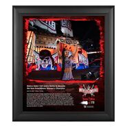 Bianca Belair WrestleMania 37 15x17 Commemorative Plaque