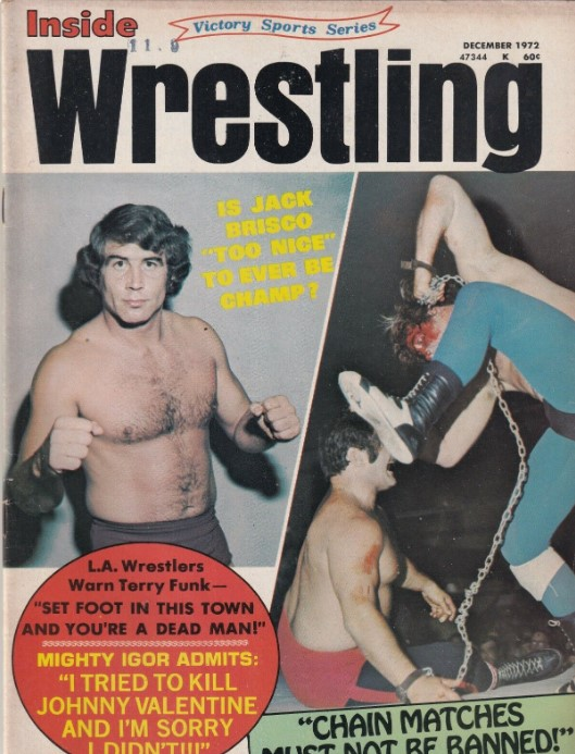 Inside Wrestling - December 1972
