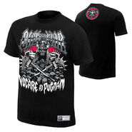 Triple H Call to War Authentic T-Shirt