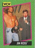 1991 WCW (Impel) Jim Ross 156