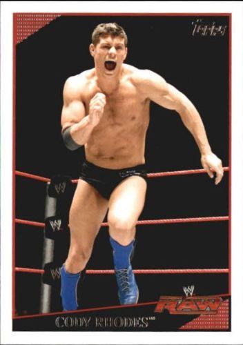 2009 WWE (Topps) Cody Rhodes (No.18)