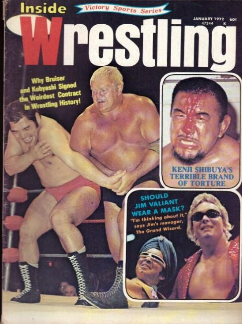 Inside Wrestling - January 1972