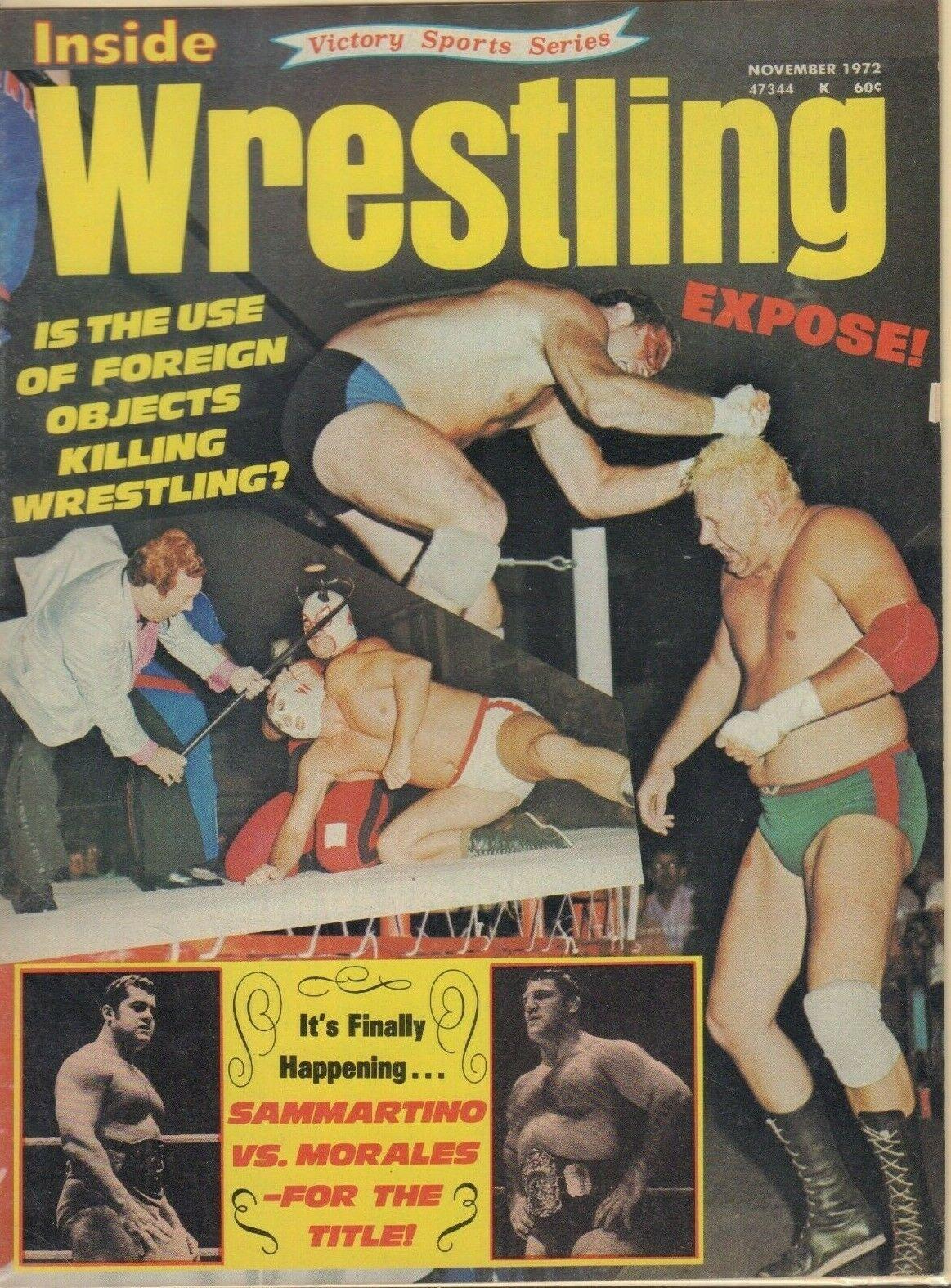 Inside Wrestling - November 1972
